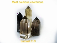 Pointe quartz fumé