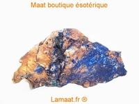Belle Azurite brute, provenance maroc