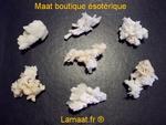 Aragonite blanche
