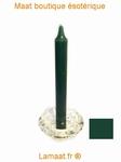 Bougie rituels vert sapin