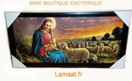 Cadre tableau Jesus berger