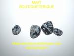 Obsidienne neigeuse-mouchetée