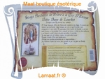 Bougie parchemin Notre dame de Lourdes