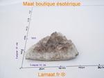 Cristal de roche - Quartz fumé