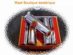 Boite de dix rouleaux Charbons 30mm