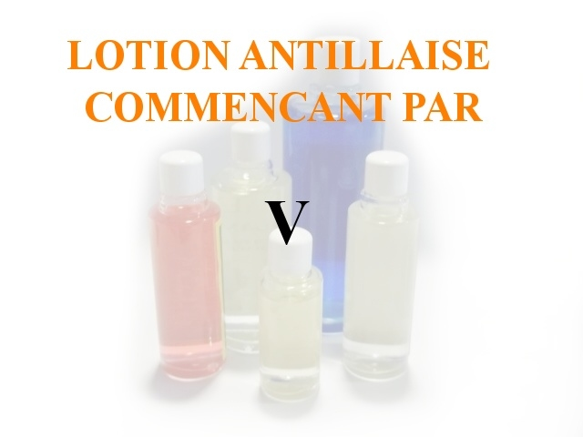 Lotions Antillaises - U-V