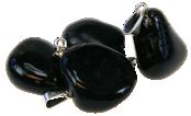 Pendentifs Onyx Noir
