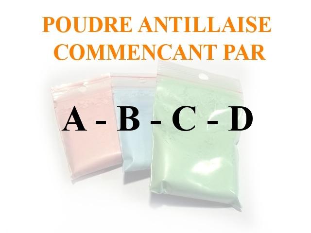 Poudres Antillaise A-B-C-D
