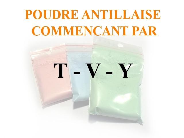 Poudres Antillaise T-V-Y